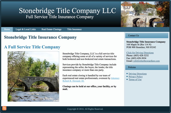 Stonebridge Title Insurance Company